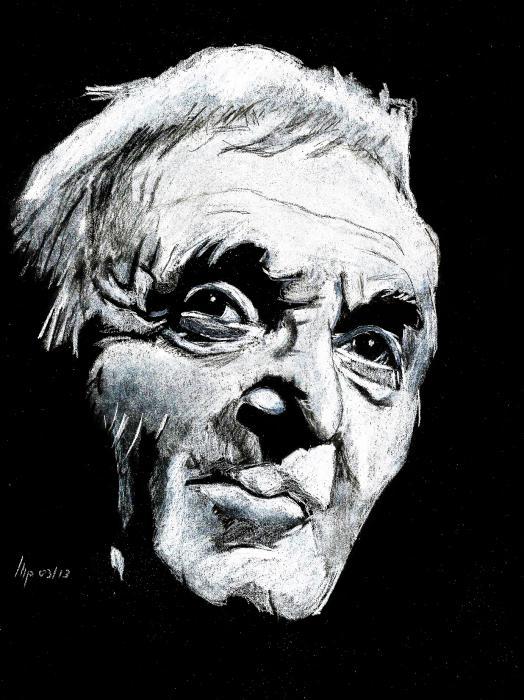 gros en ligne choisir véritable divers design Portrait de Charles Aznavour par patrick sur Stars Portraits